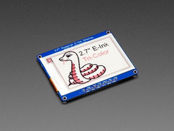 """Adafruit 2.7"""" Tri-Color eInk / ePaper Display mit SRAM (rot, schwarz, weiß)"""