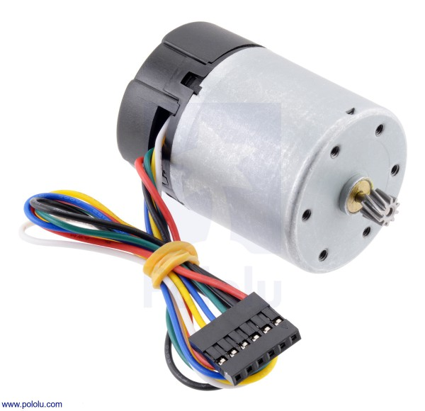 Motor with 64 CPR Encoder (37D mm)