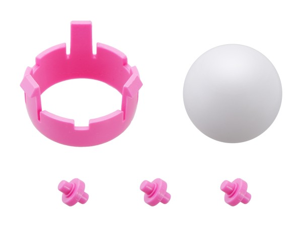 Romi Chassis Ball Caster Kit - Pink