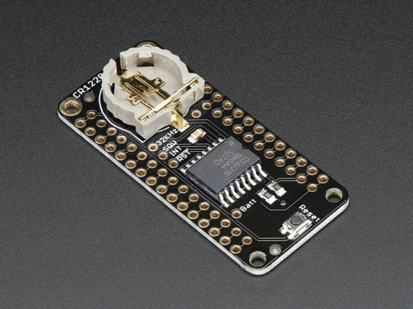 Adafruit DS3231 Precision RTC FeatherWing - RTC Add-on For Feather Boards
