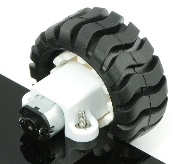 50:1 15.5D Micro Metal Gear Motor 6V 630RPM