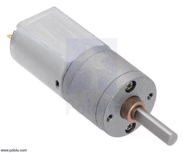 488:1 Metall-Getriebemotor 20Dx46L mm 12V CB