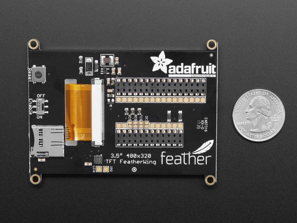 Adafruit TFT FeatherWing - 3 5