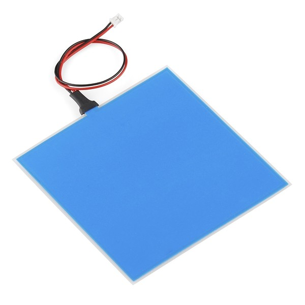 EL Panel - Blau (10x10cm)