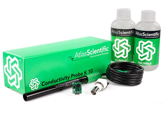 Conductivity Kit K 10 (Probe + Schaltung + Kalibrierungslösung)