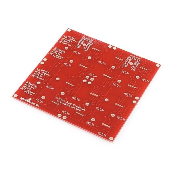 Sparkfun Button Pad 4x4 - Breakout PCB COM-08033
