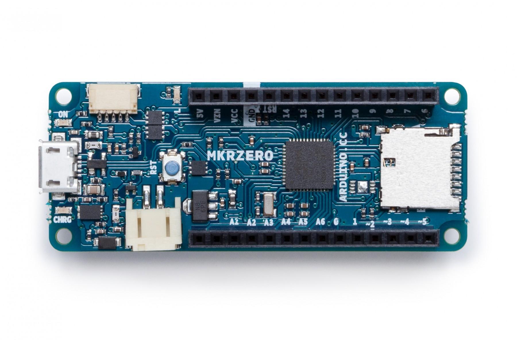 Arduino mkr zero mit headers plattformen exp