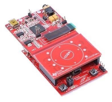 C5000 Audio Capacitive Touch BoosterPack for LaunchPad