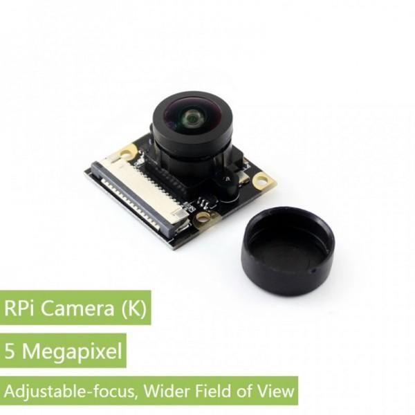 Waveshare RPi Camera (K), Fisheye Lens