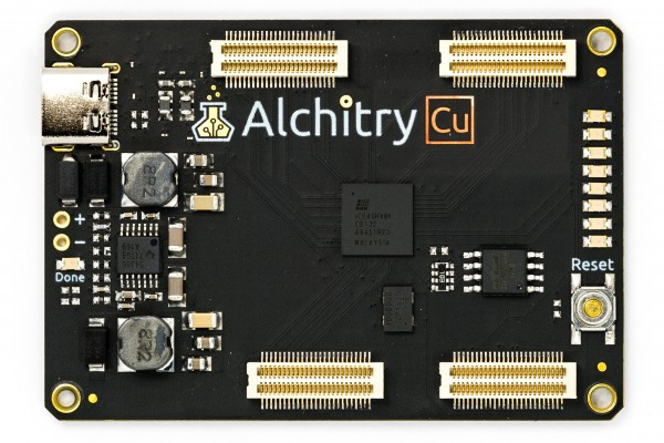 Alchitry Cu Lattice iCE40 HX FPGA Development Board