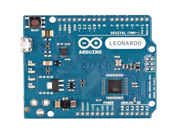 Arduino Leonardo ohne Pin Headers