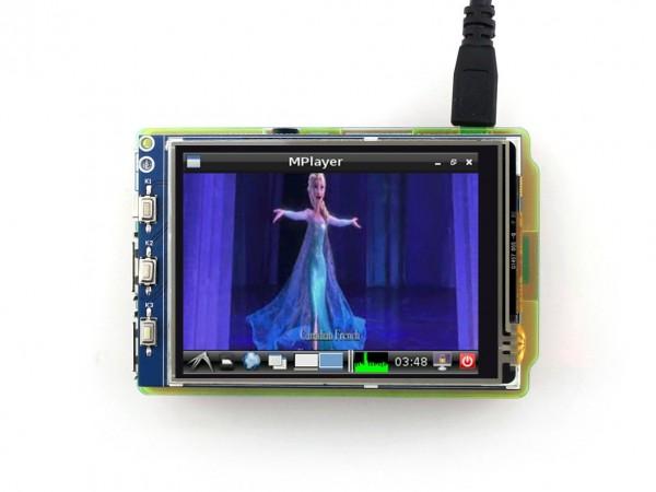 Waveshare 3.2 Inch LCD (B) für Raspberry Pi