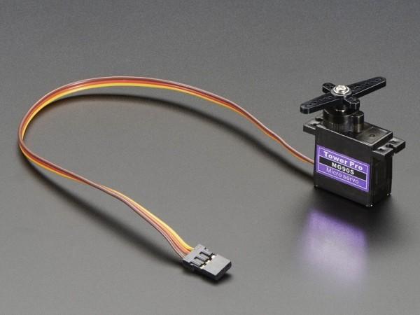 Micro-Servomotor MG90S (Hochleistungsmetallgetriebe)