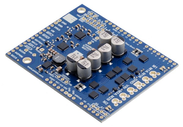 Pololu Dual G2 High-Power Motor Driver 24v14 Shield for Arduino