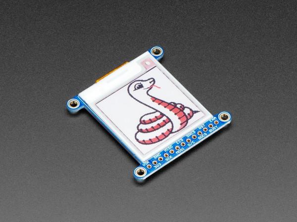 """Adafruit 1.54"""" Tri-Color eInk / ePaper Display mit SRAM (rot, schwarz, weiß)"""