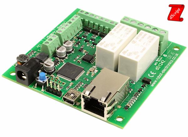 dS1242 - Programmierbares Ethernet-Relais (2 x 16 A)