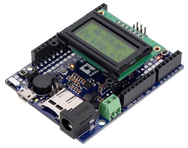 Pololu A-Star 32U4 Prime LV microSD with LCD