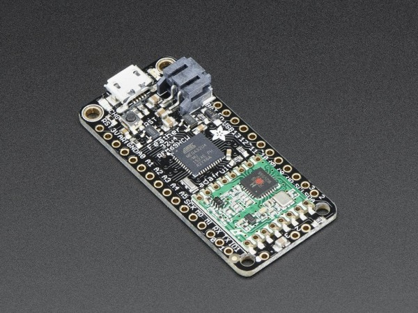 Adafruit Feather 32u4 with RFM69HCW Packet Radio - 433MHz
