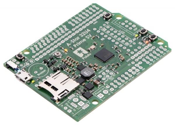 Pololu A-Star 32U4 Prime SV microSD (SMT Components Only)