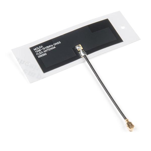 Molex Flexible GNSS Antenna - U.FL (Adhesive)