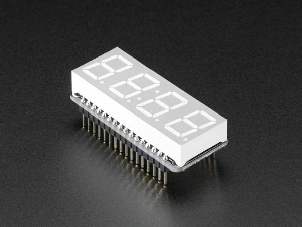 Adafruit 4-Digit 7-Segment LED Matrix Display FeatherWing