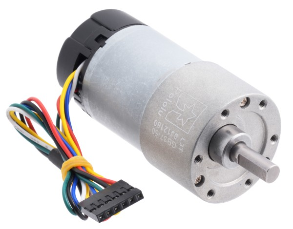 50:1 Metal Gearmotor 37Dx70L mm with Encoder