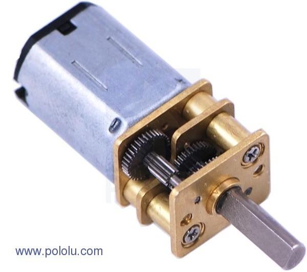 298:1 Micro Metall Getriebemotor MP