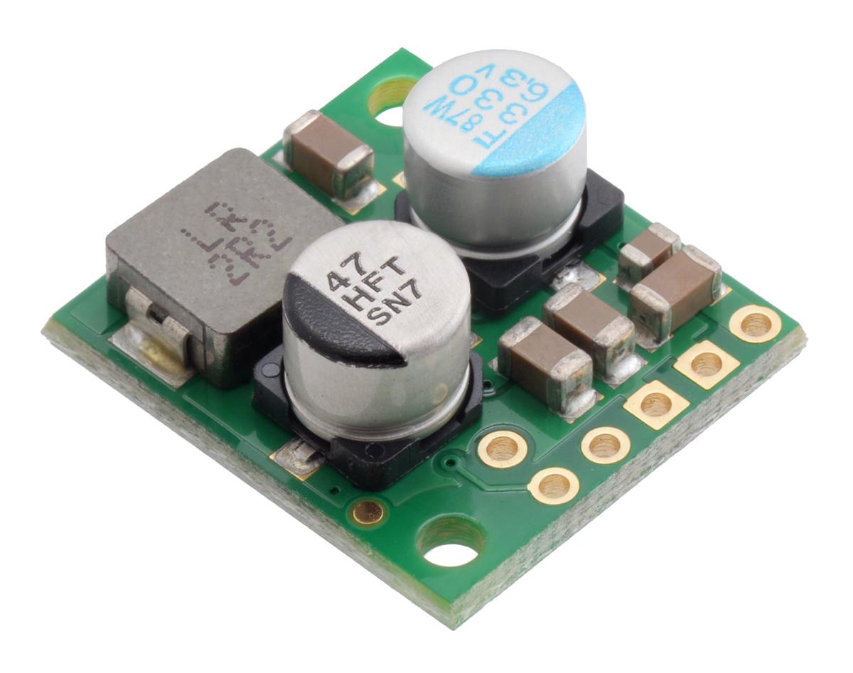 3.3V Step-Up//Step-Down Voltage Regulator w// Adjustable Low-Voltage Cutoff S9V11F3S5CMA