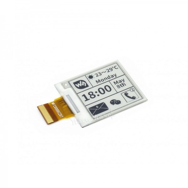 "Waveshare 1.54"" E-Ink raw display panel 200x200"