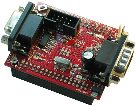 AVR-CAN - AT90CAN128 Development Board