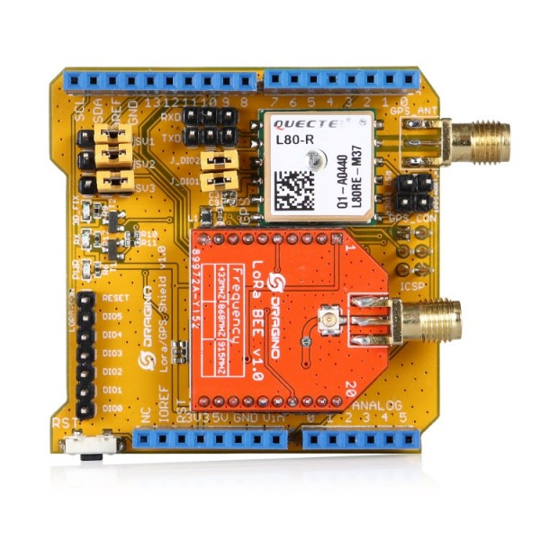 Dragino Lora/GPS Shield 433
