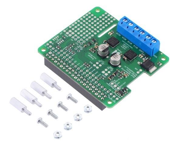 Dual TB9051FTG Motortreiber für Raspberry Pi (zusammengebaut)