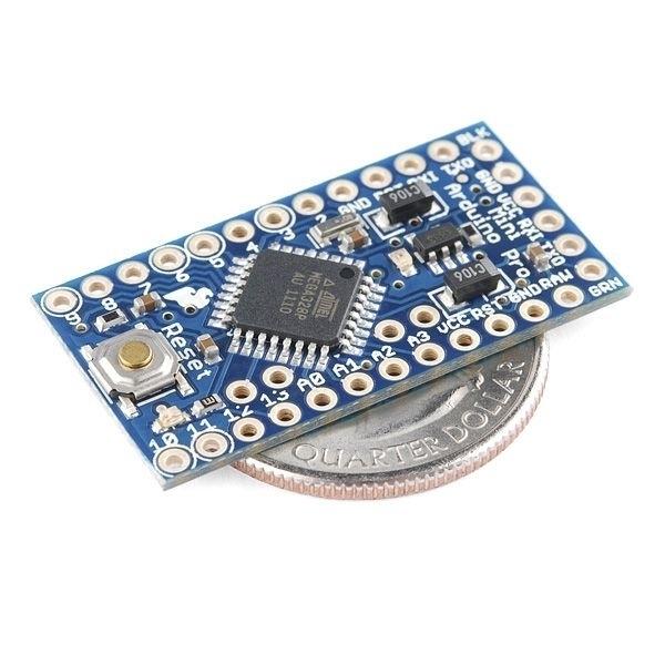 Arduino pro mini v mhz plattformen
