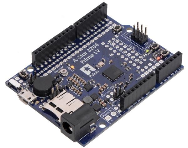Pololu A-Star 32U4 Prime LV microSD