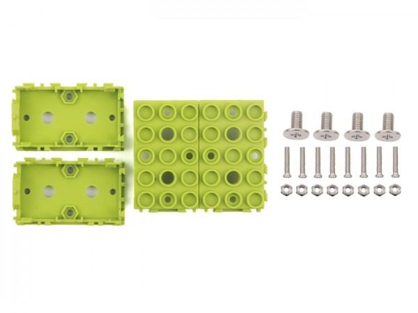 Seeed Studio Grove - Green Wrapper 1*2 (4 PCS pack)