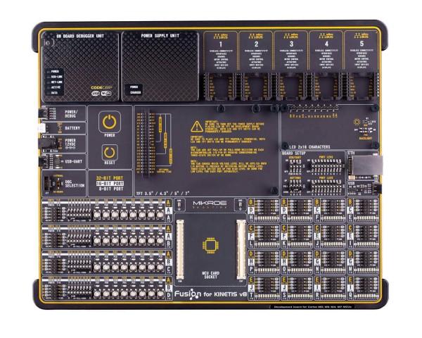 Fusion for Kinetis v8 with MK64FN1M0VDC12