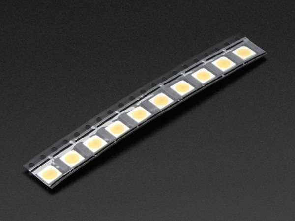 APA102 5050 Warm White LED w/ Integrated Driver Chip - 10 Pack - ~3000K