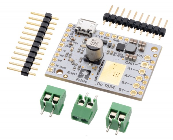 Pololu Tic T834 USB Multi-Interface Schrittmotor-Treiber