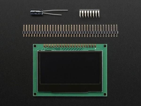 "Monochrome 2.42"" 128x64 OLED Graphic Display Modul"