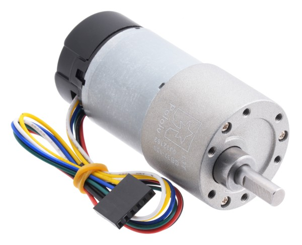 100:1 Metal Gearmotor 37Dx73L mm with Encoder