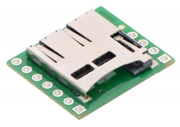 Pololu Breakout Board for microSD Card