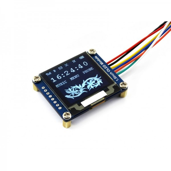 "Waveshare 128x128, General 1.5"" OLED display Module"