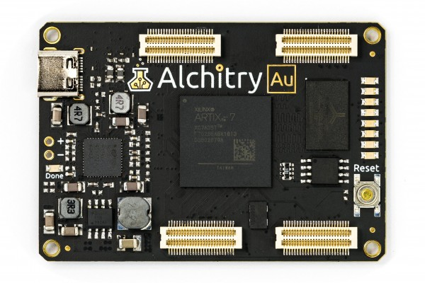 Alchitry Au Xilinx Artix 7 FPGA Development Board