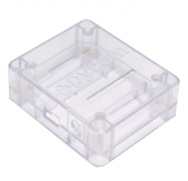 PyCase Clear Enclosure for WiPy