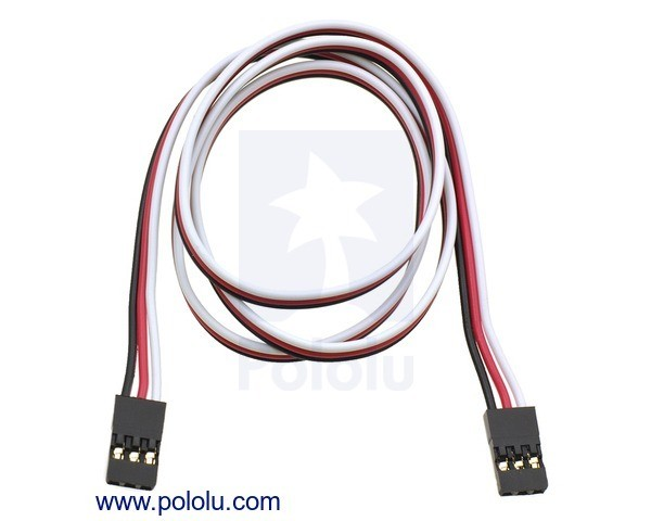 Servo Extension Cable 60cm Female - Female