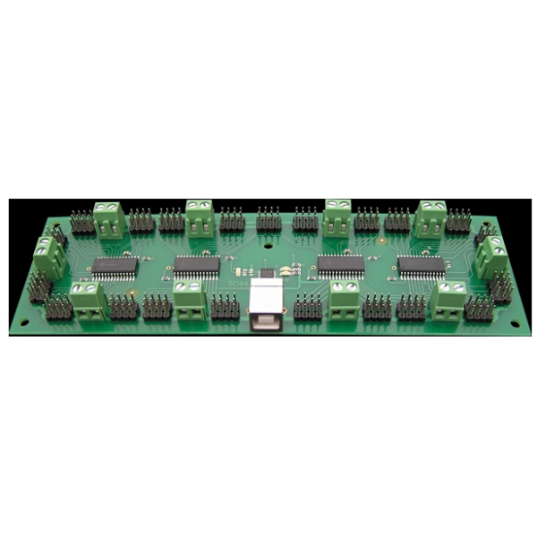 SD84 - 84 Channel Multifunction Servo Controller