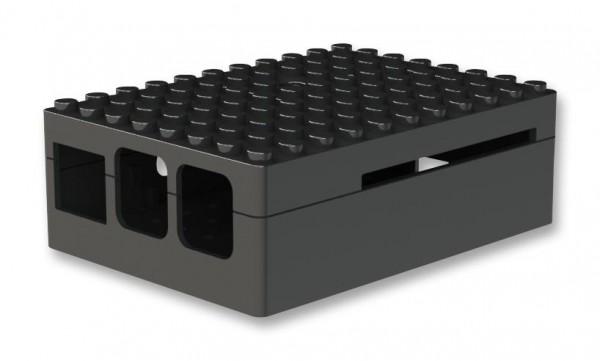PiBlox Enclosure Black for Pi 2 / Pi 3