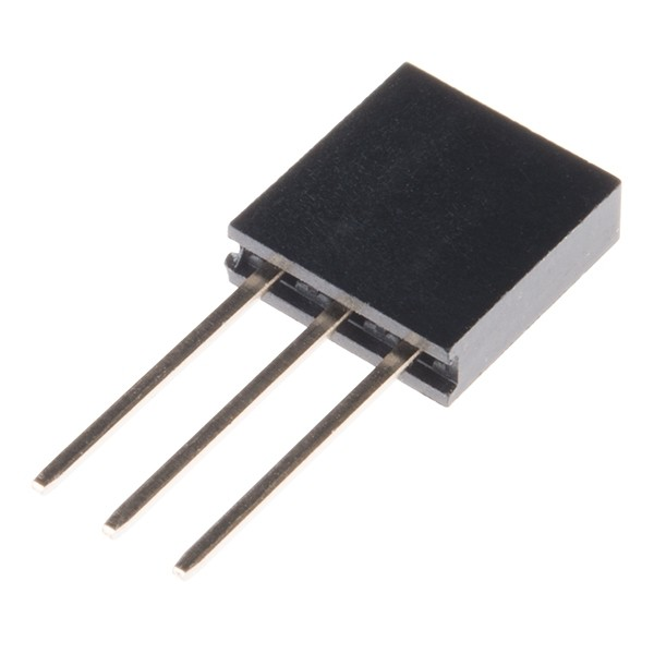 "Stackable Header - 3 Pin (Female, 0.1"")"