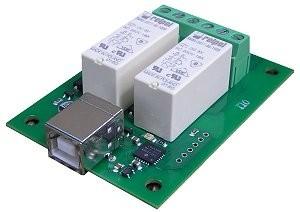 USB-RLY02 - 2 Kanal USB Relais