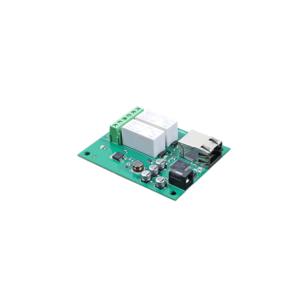 ETH002 - 16Amp, 2 Channel Relay Module